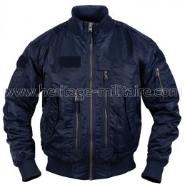US tactical jacket navy blue