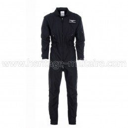 US pilot overall black