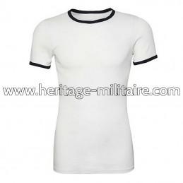 Tee-shirt 100% coton marine