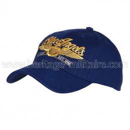 Baseball cap Blue Angels blue