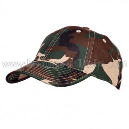 Baseball cap woodland