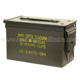 Ammo box cal. 5.56mm...