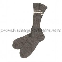 WWII gray German sock