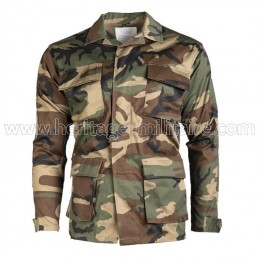 Jacket US BDU woodland