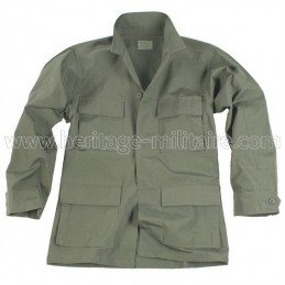Jacket US BDU ripstop OD green
