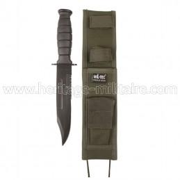 Couteau de combat avec étui...