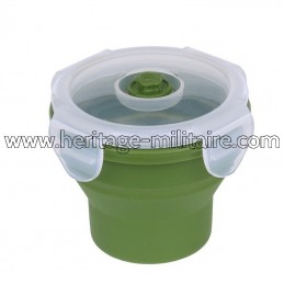Silicone collapsible cup...