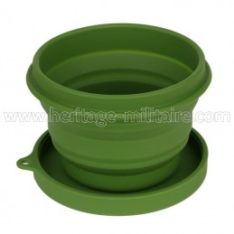Silicone collapsible bowl...