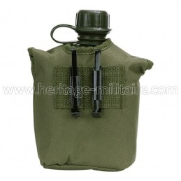 Plastic canteen 1L with...