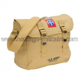 Sac besace 82nd Airborne sable