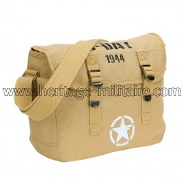 Canvas shoulder bag D-Day...