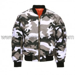 Jacket US MA1 Aviator urban...