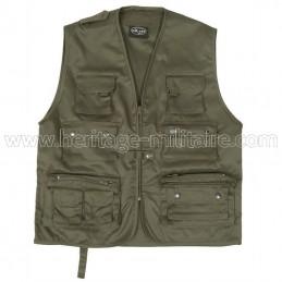 Multipocket vest OD green
