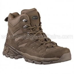 Squad boots high brown