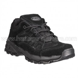 Squad boots low black