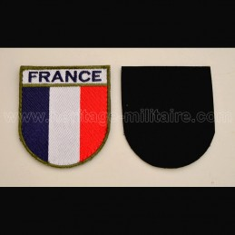 Patch France with velcro