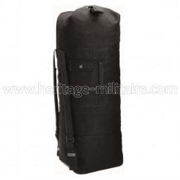 US duffel bag canevas black