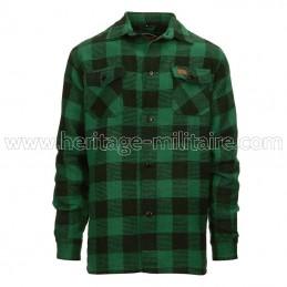 Lumberjack shirt green