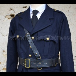 Officer belt with shoulder...
