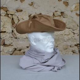 Chèche coton couleur gris