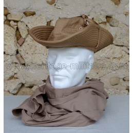 Brown cotton cheche