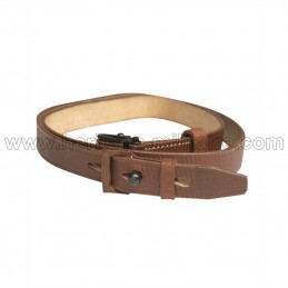 Leather strap for German...