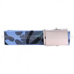 US belt 100% cotton blue camo