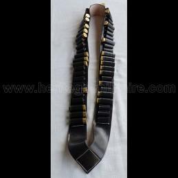 Cartridge strap cal 12 BLACK