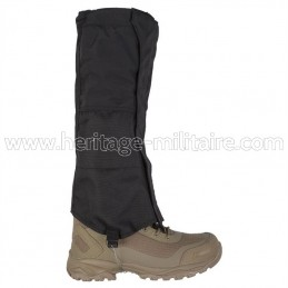 Waterproof gaiters black