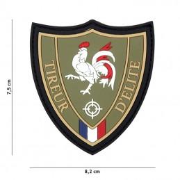 "3D PVC French flag ""Sniper""..."