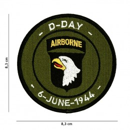 """Patch """"D-DAY 101st..."""