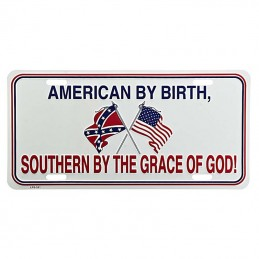License plate American By...