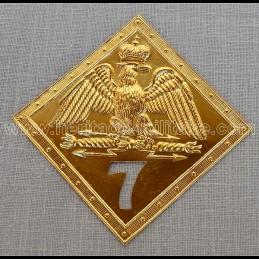 Shako plate 1806 - 1810...