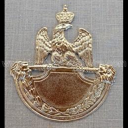 Shako plate 1812 lion head...