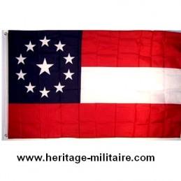11 Stars confédérate flag...