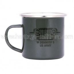 "Enamel mug ""US army"""