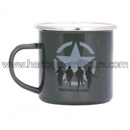 """Enamel mug """"Brothers in Arms"""""""
