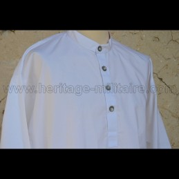 Chemise militaire blanche WWI
