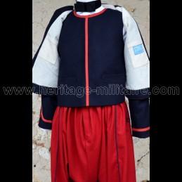 Zouave civilian vest, Guard...