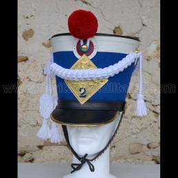 Shako 2ème régiment de...
