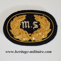 MS embroidered officer...