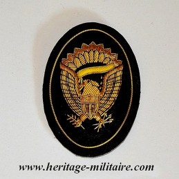 Hardee embroidered officer...