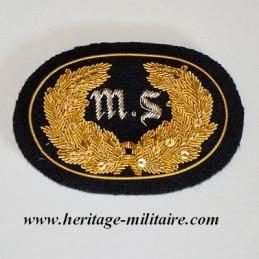 Insigne d'officier brodé MS...