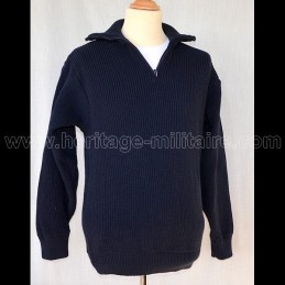 Troyer sweater acrylic navy...
