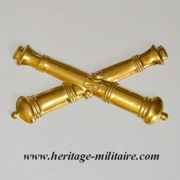 Artillery metal badge civil...