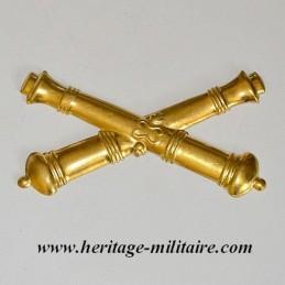 Insigne en métal artillerie...