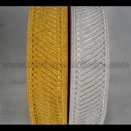 Galon stick 4cm gold or silver