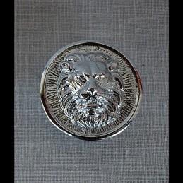 """Cocarde """"Tête de lion sur..."""