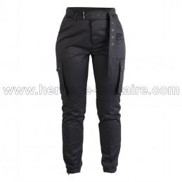 Pantalon ARMY femme noir