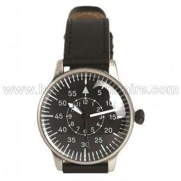 Black pilot watch